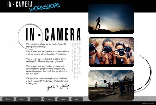 In-Camera Workshops