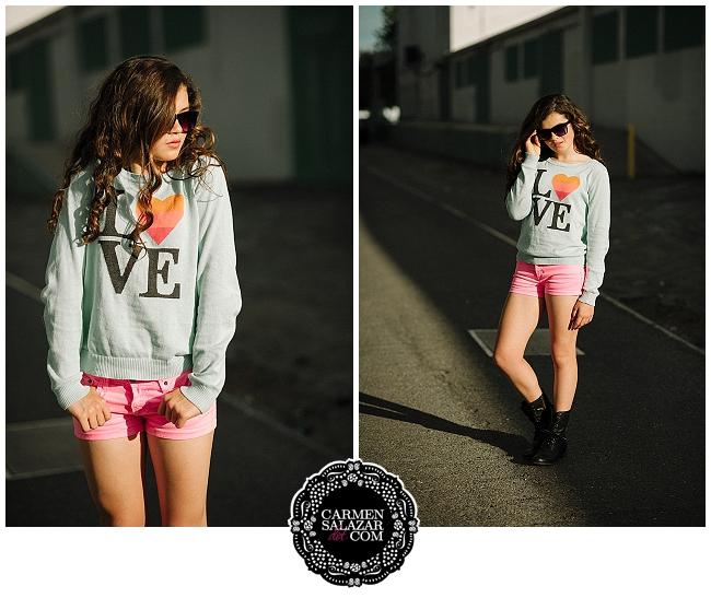 neon teen style