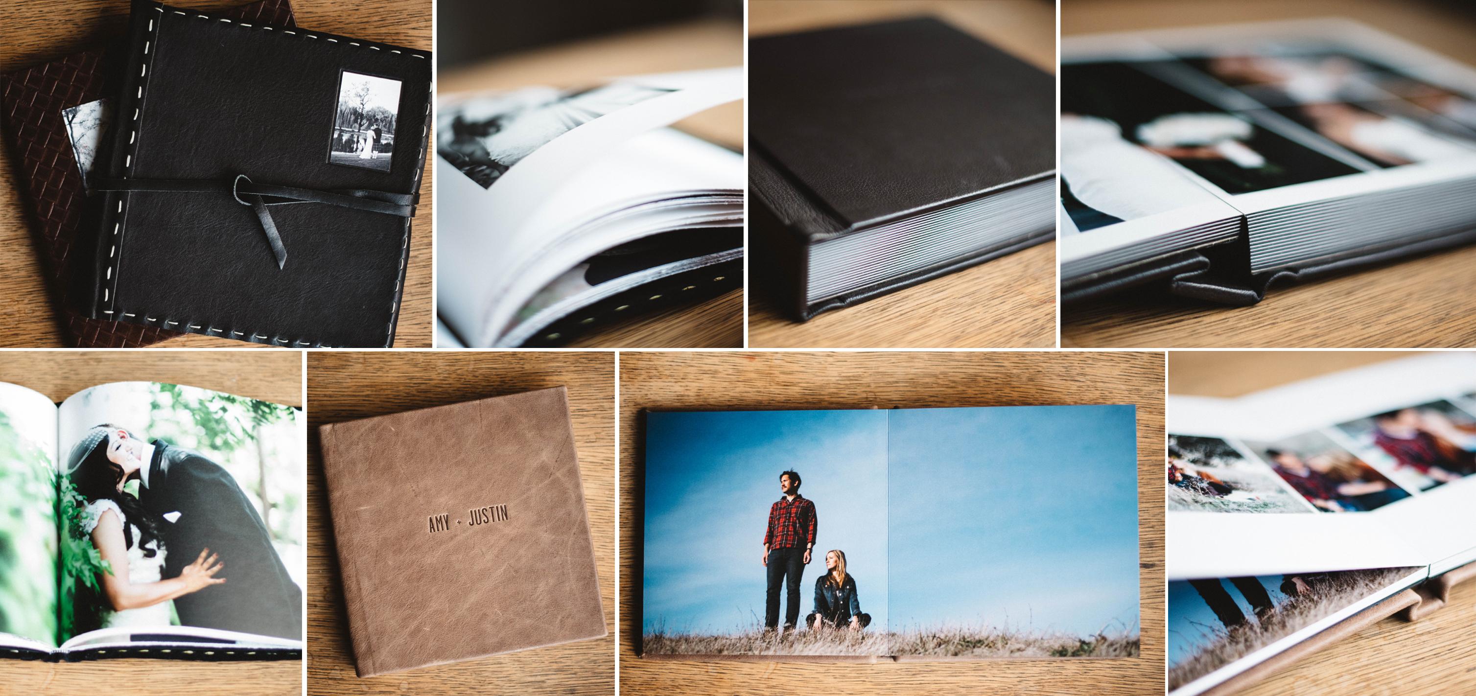photos of wedding albums