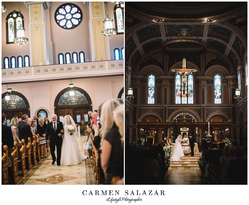Cathedral Wedding by Carmen Salazar