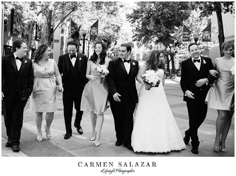 candid bridal party pictures