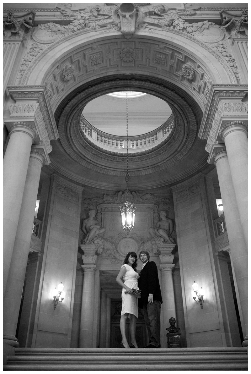 wedding photographer Carmen Salazar at City Hall SF