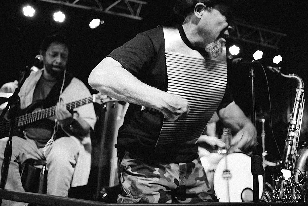 Zydeco Band on Bourbon Street by Carmen Salazar