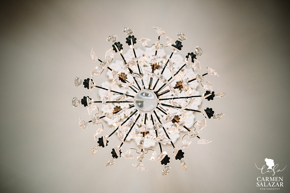 Terrell house chandelier by Carmen Salazar
