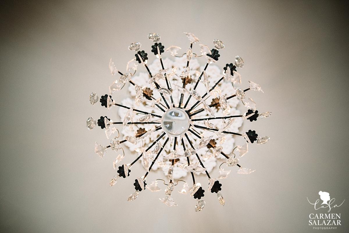 Terrell house chandelier by Carmen Salazar