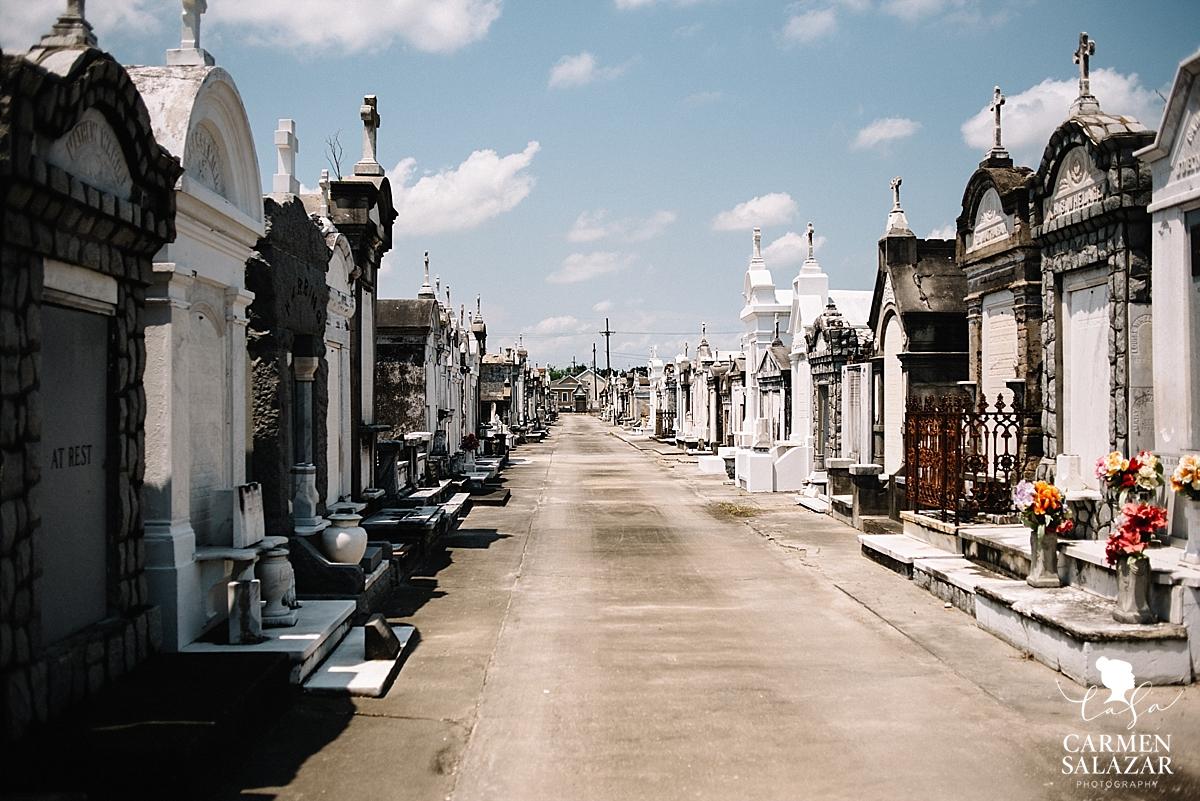 New Orleans cemetery by Carmen Salazar