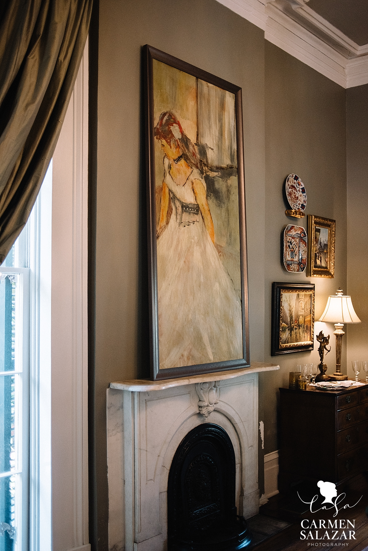 French quarter interior design by Carmen Salazar