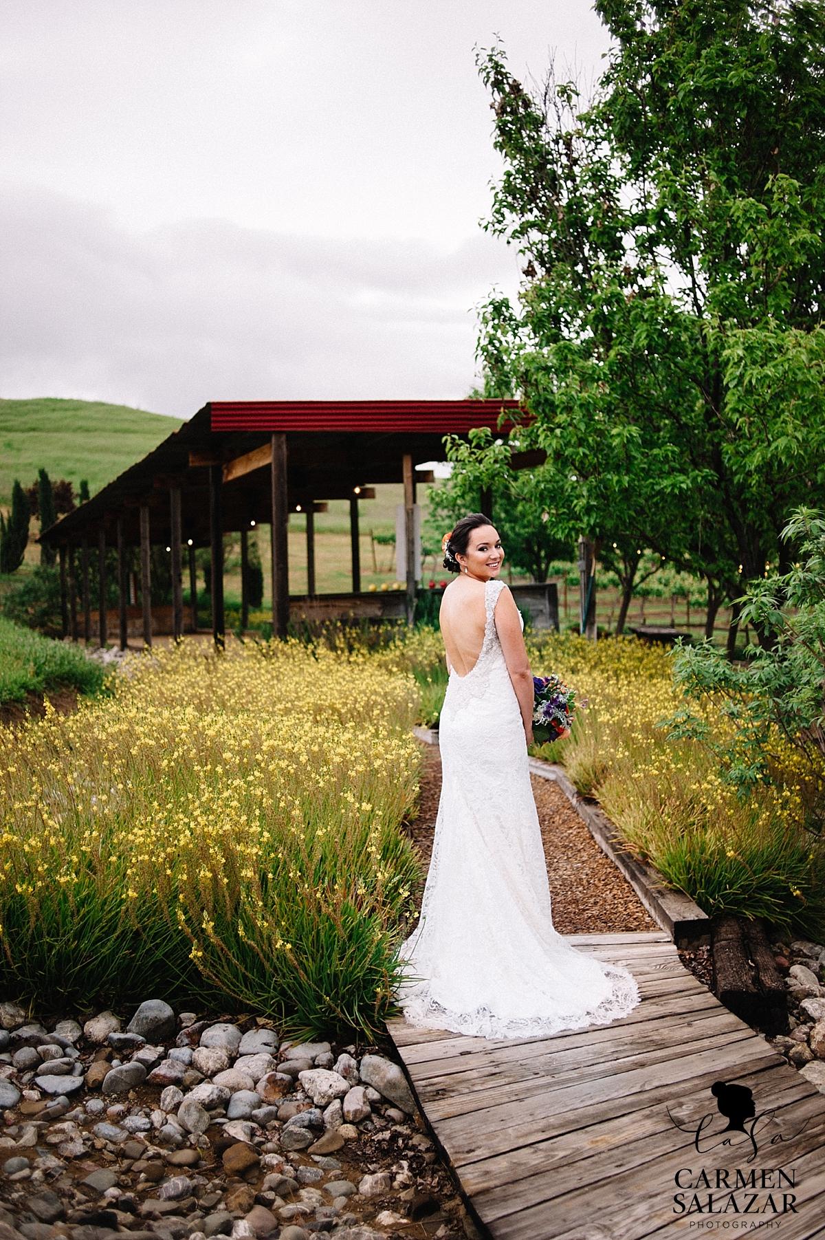 Stunning Taber Ranch bridal portraits - Carmen Salazar