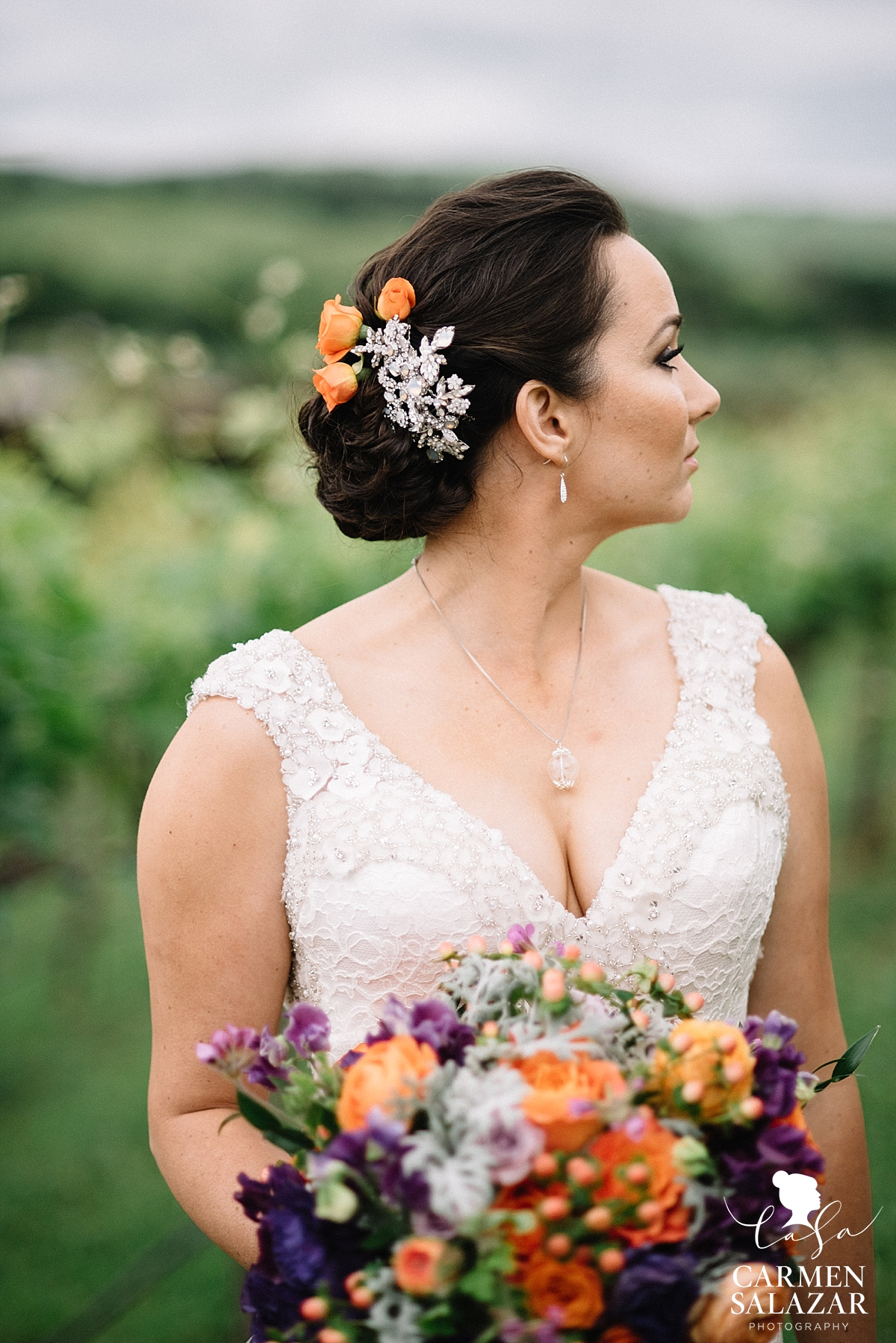 Fall wedding florals - Carmen Salazar
