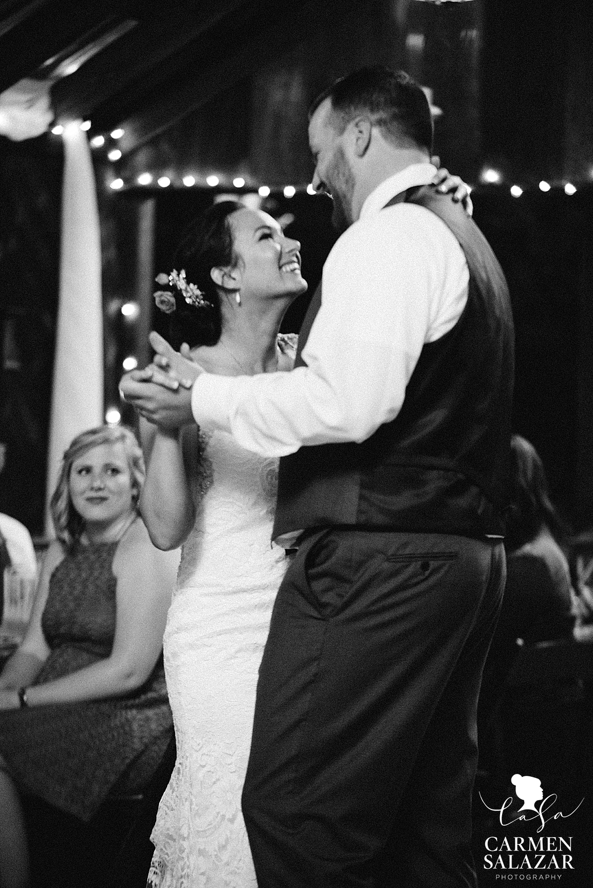 Bride and groom's first dance - Carmen Salazar