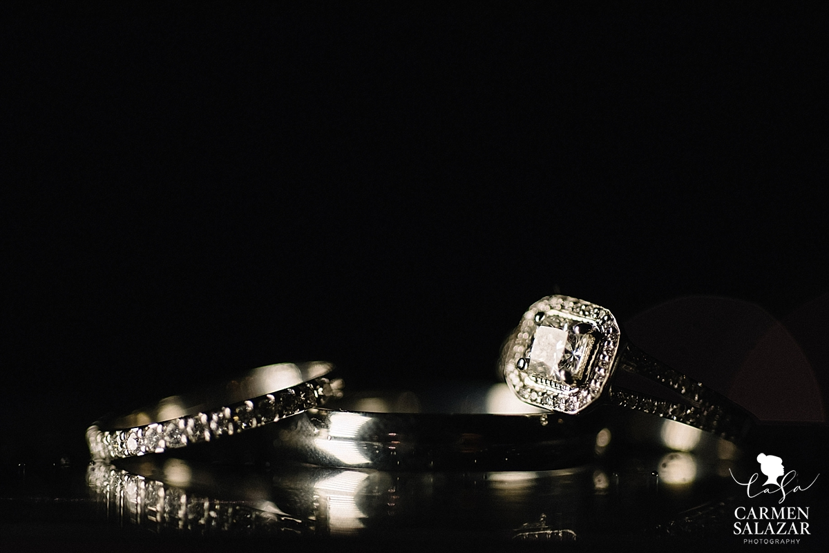Vintage style wedding rings - Carmen Salazar