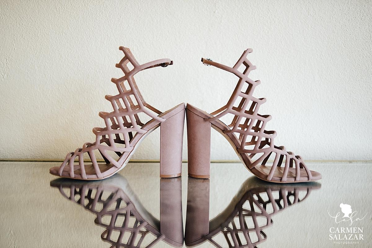 Sexy non-traditional wedding heels