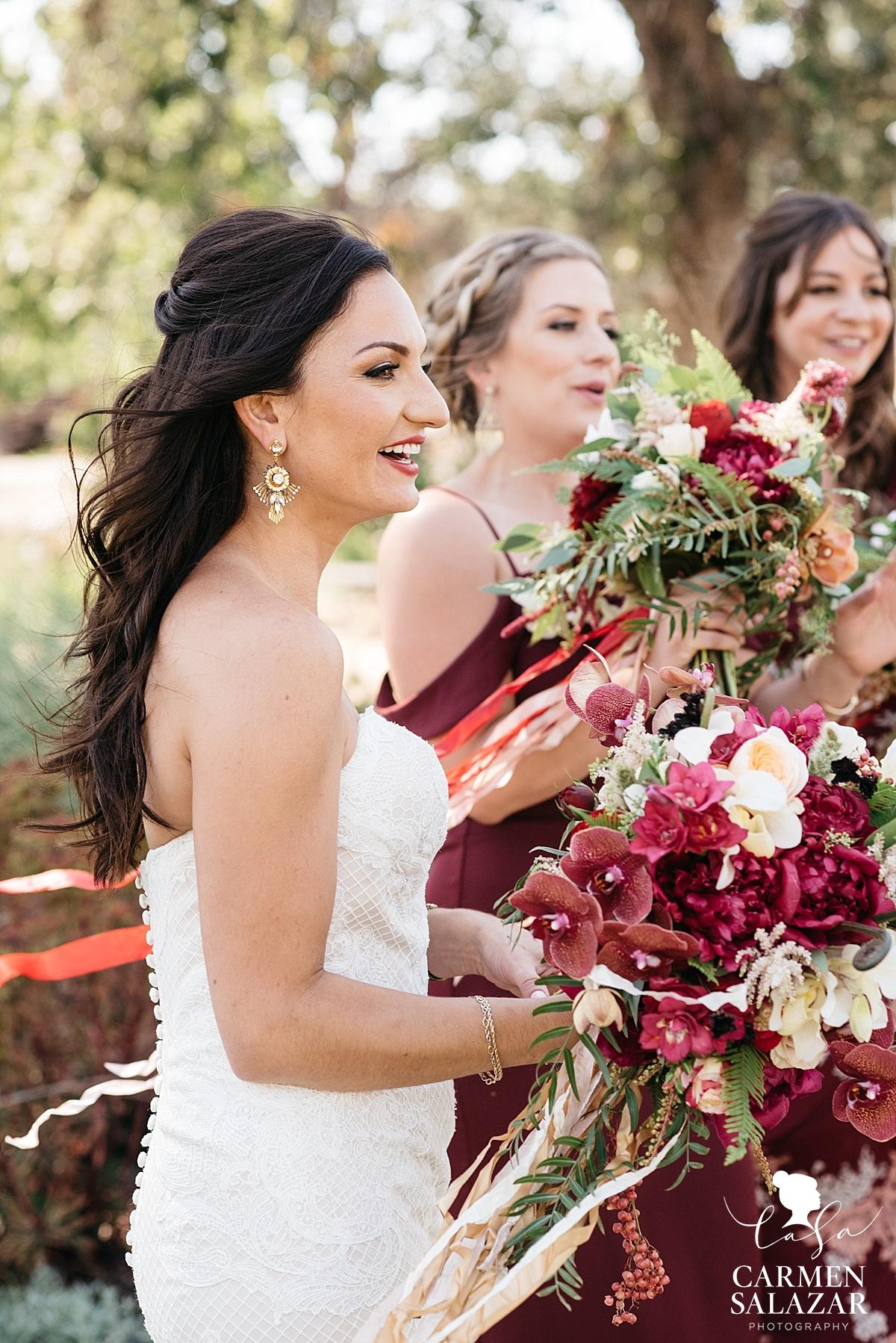 Boho summer bridal bouquets - Carmen Salazar