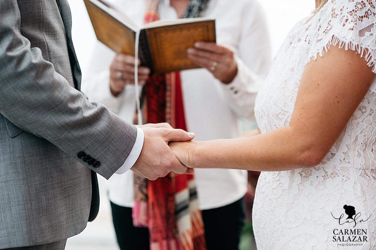 Creative intimate wedding inspiration