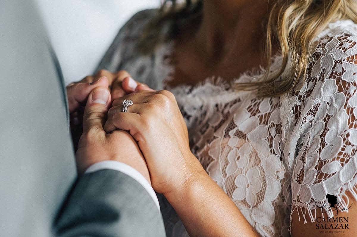 Vintage style wedding ring - Carmen Salazar