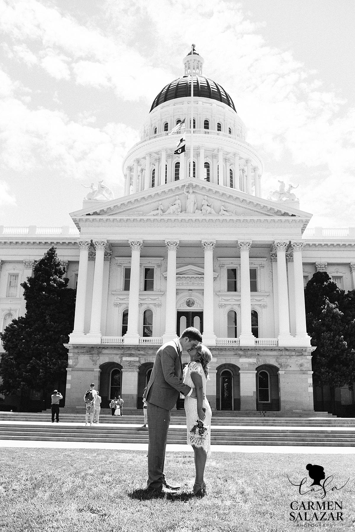 California State Capitol wedding photography - Carmen Salazar