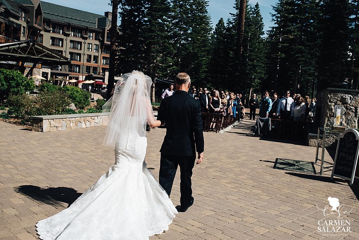 Ritz-Carlton outdoor wedding ceremony - Carmen Salazar