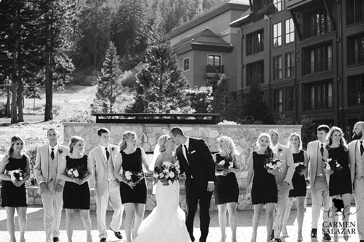 Charming outdoor bridal party portraits- Carmen Salazar