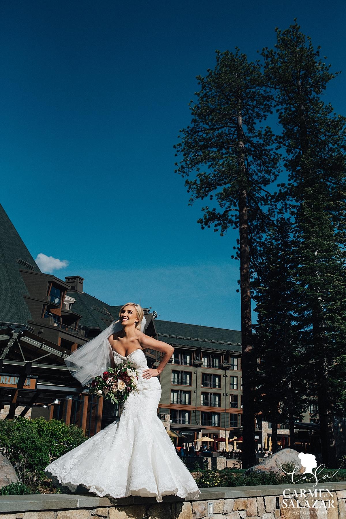 Tahoe bridal fashion photography - Carmen Salazar