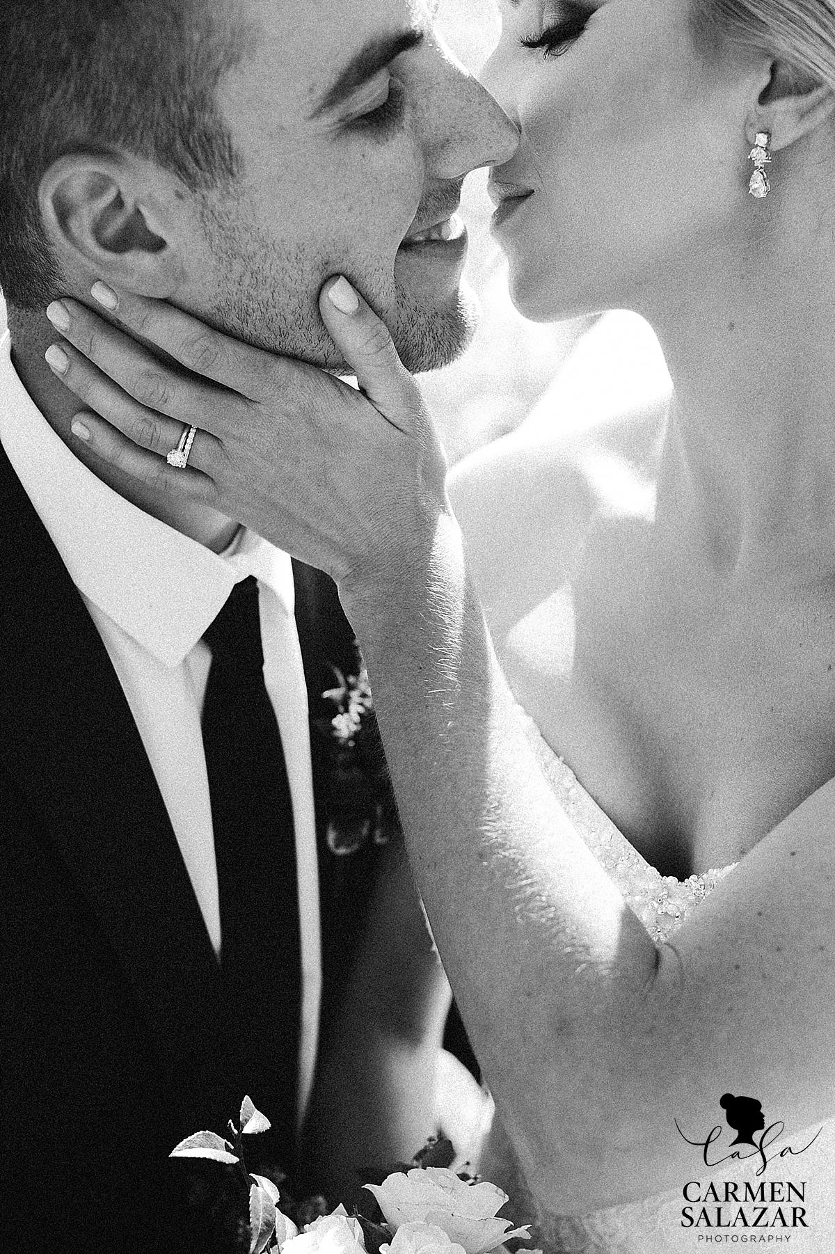 Intimate newlywed portrait photographer - Carmen Salazar