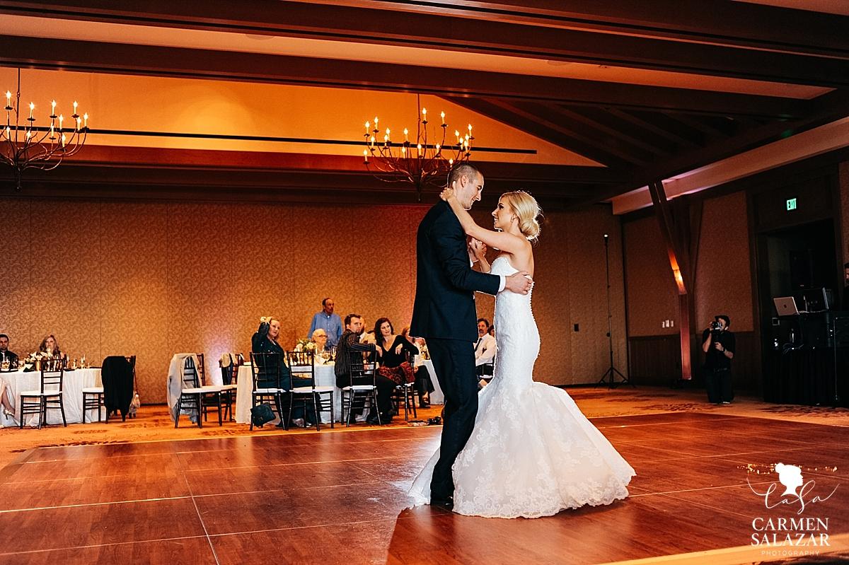 Ritz-Carlton Tahoe first dance - Carmen Salazar