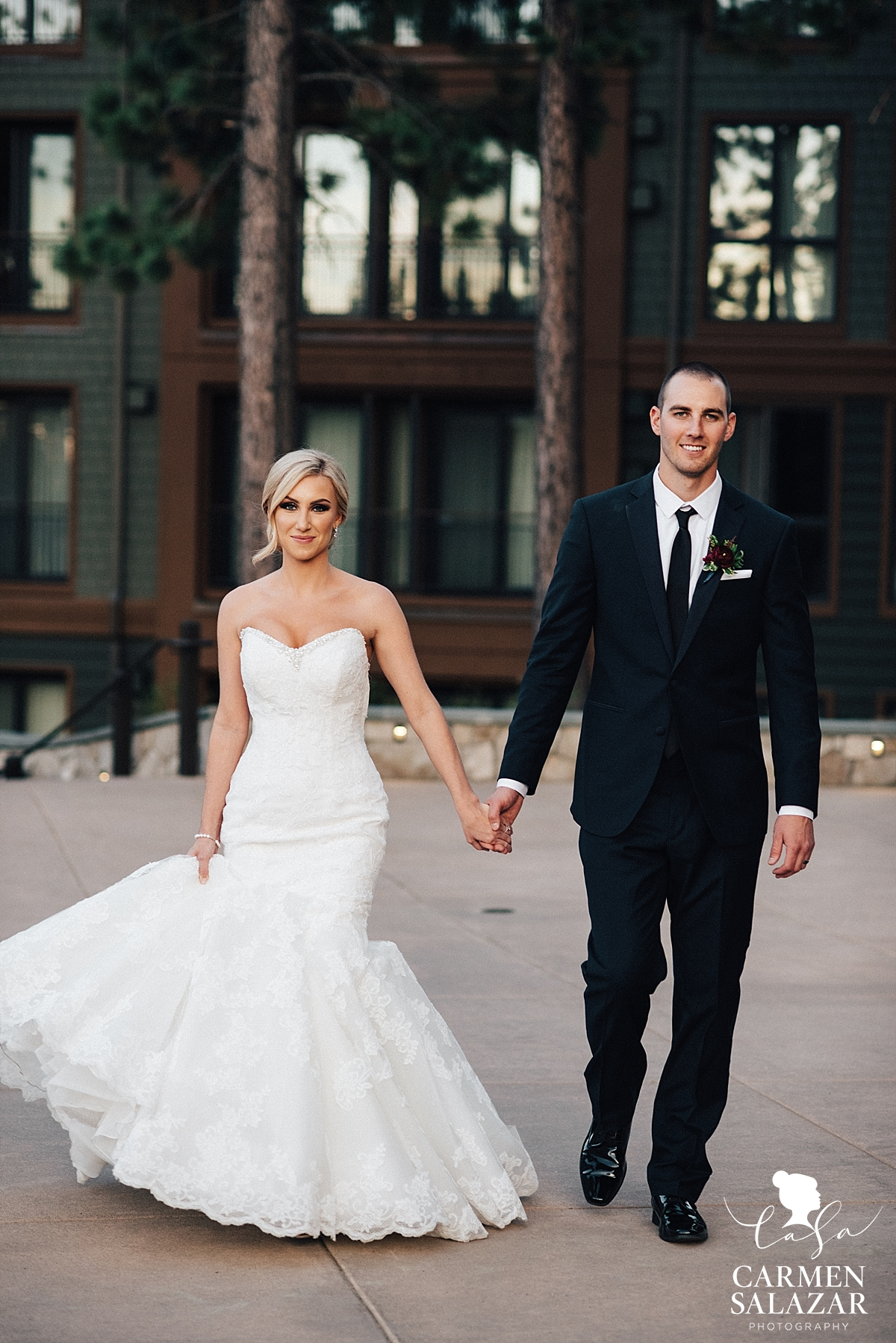 Stunning Ritz-Carlton bride and groom - Carmen Salazar