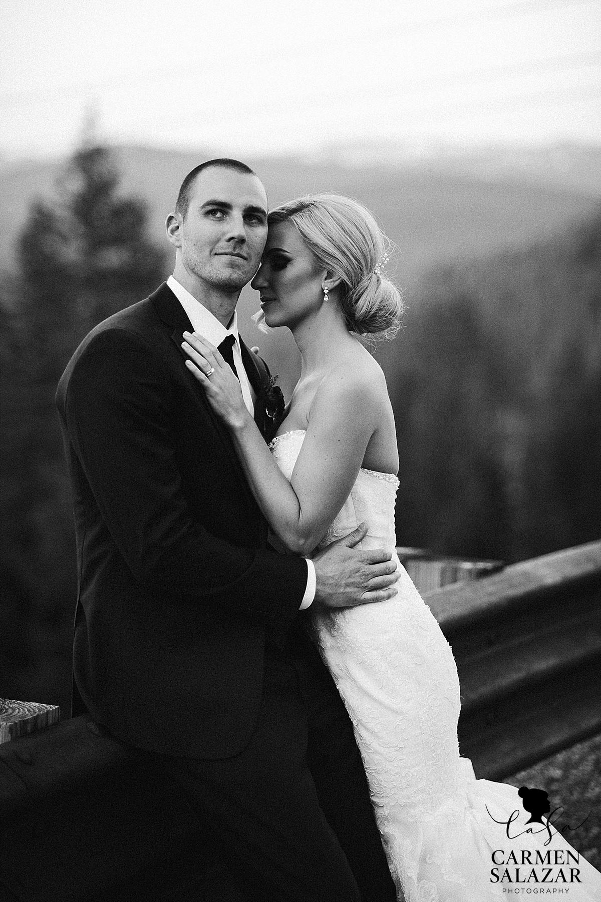 Gorgeous Tahoe destination wedding portraits - Carmen Salazar
