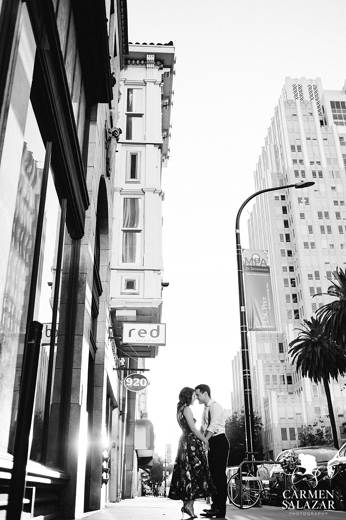Citizen Hotel engagement photography - Carmen Salazar