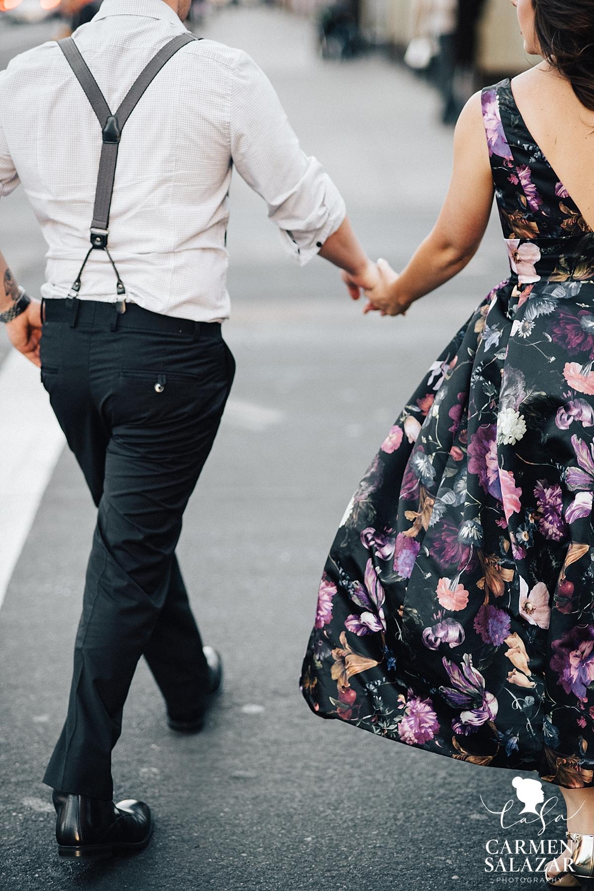 Vintage style Rent the Runway dress - Carmen Salazar