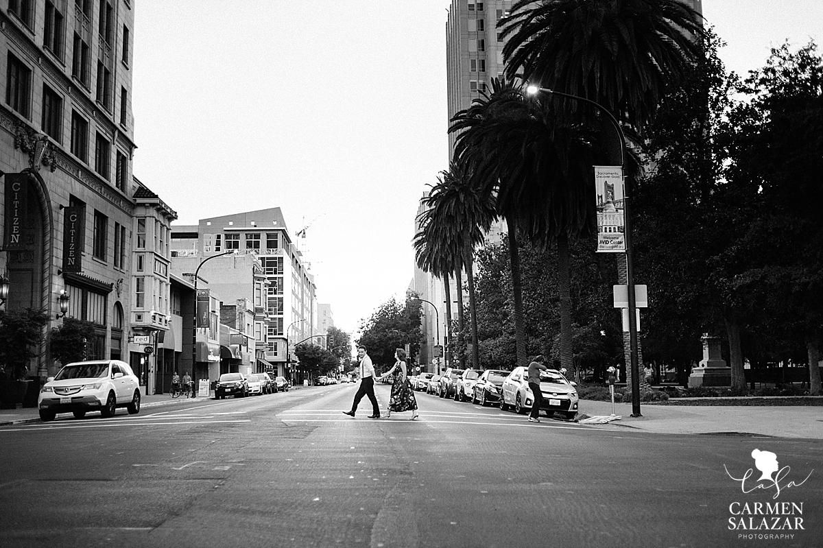 Citizen Hotel Sacramento engagement session - Carmen Salazar