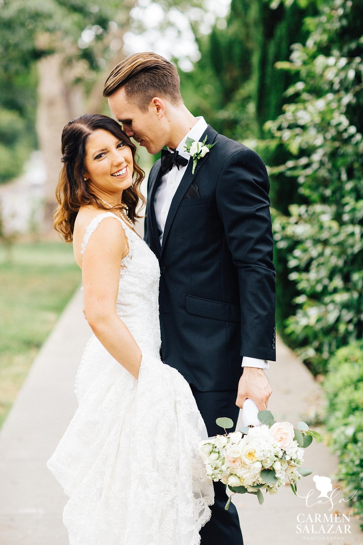 Midtown Sacramento wedding portraits - Carmen Salazar