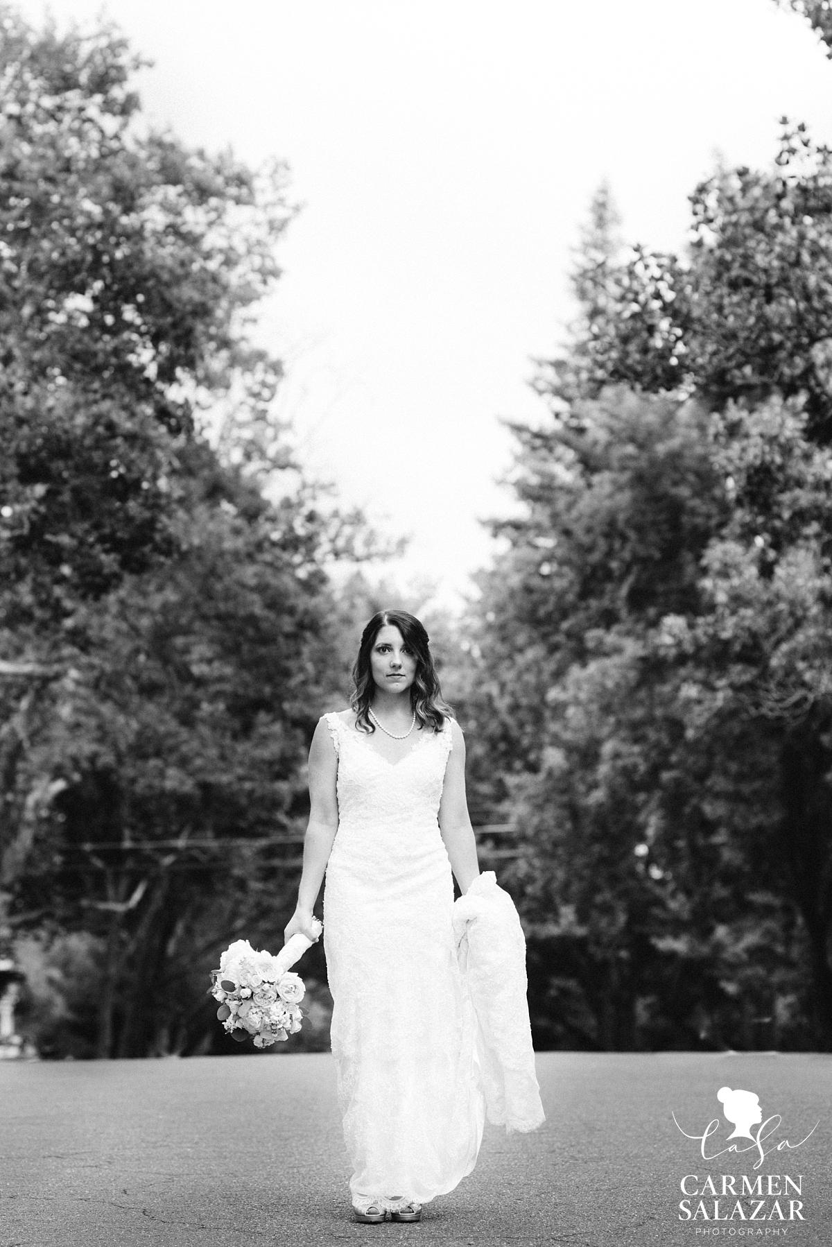 Sacramento midtown bridal portraits - Carmen Salazar
