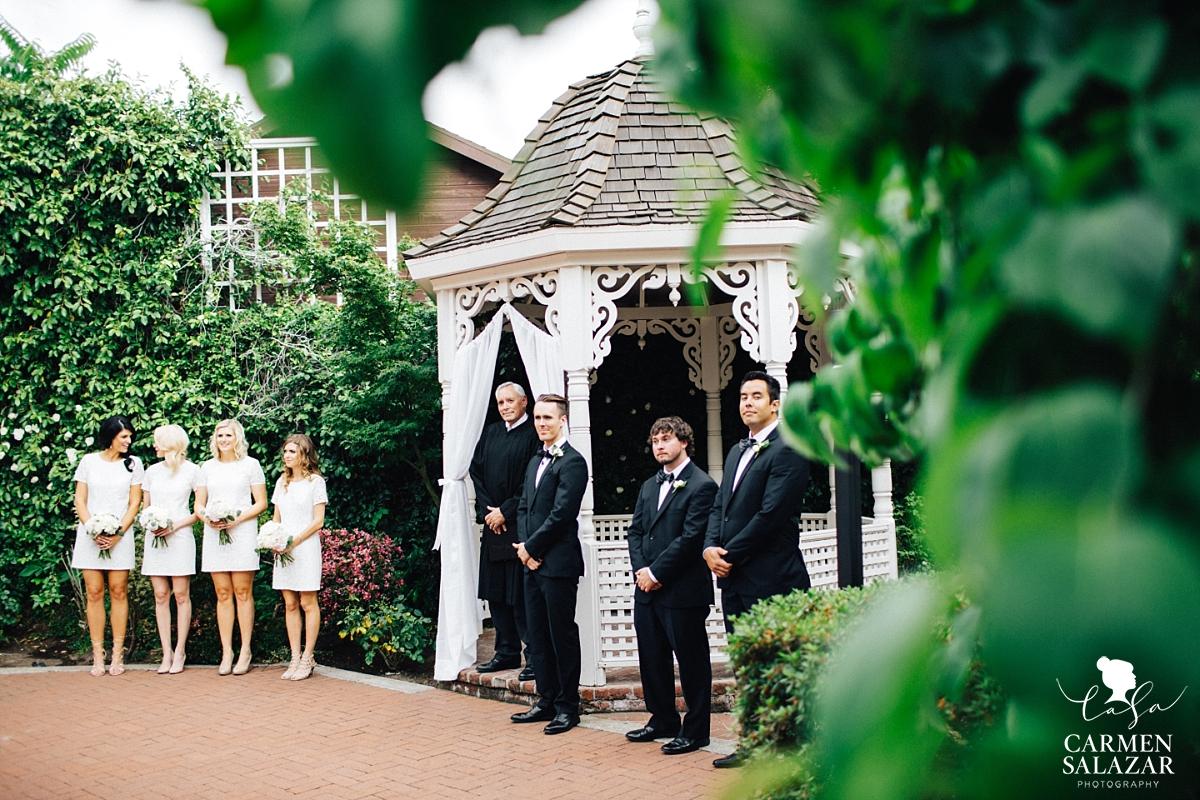 Elegant Vizcaya garden ceremony - Carmen Salazar