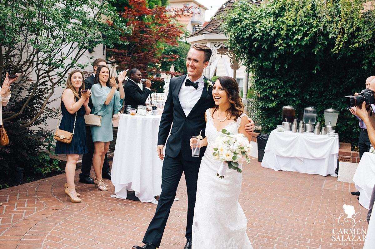 Grand entrance at Vizcaya summer wedding - Carmen Salazar