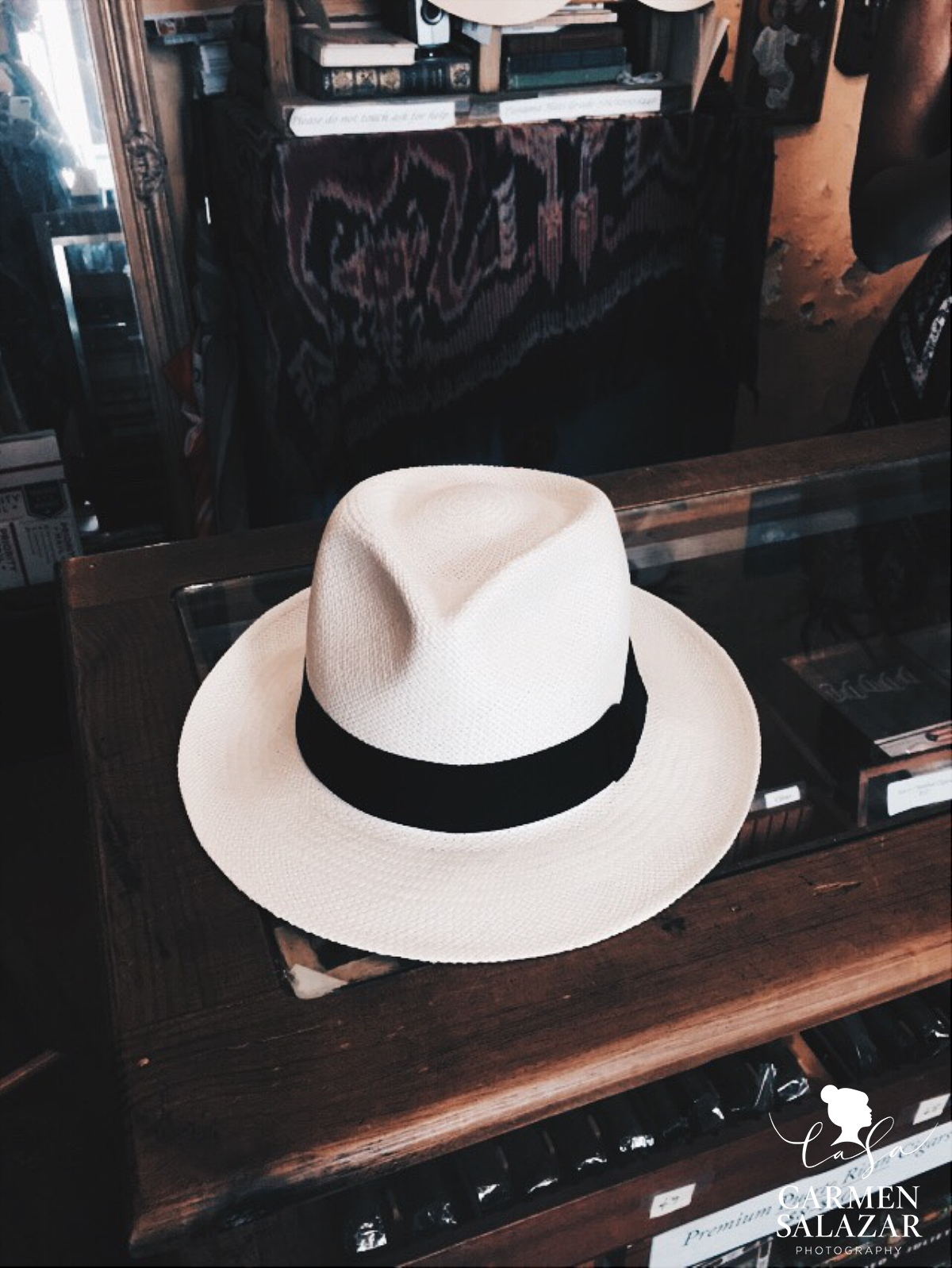 Puerto Rico Destination Photographer - Panama Hat