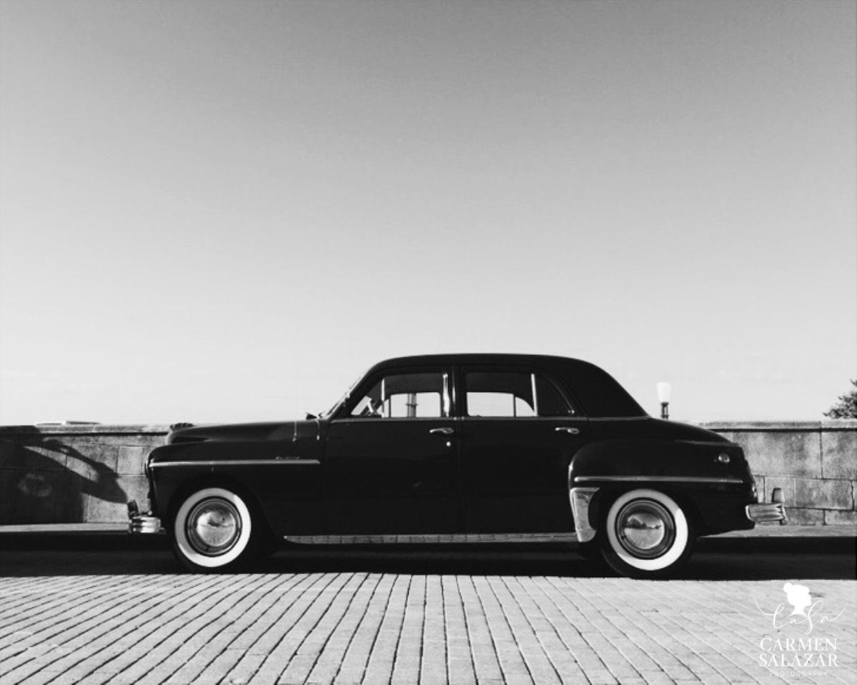 Classic Car in Puerto Rico Old San Juan