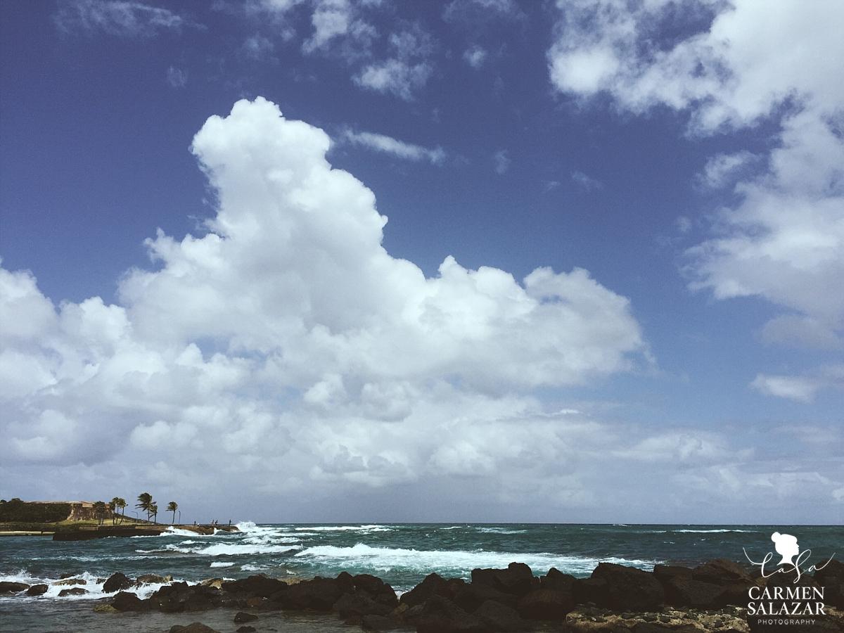 San Juan Puerto Rico beach view