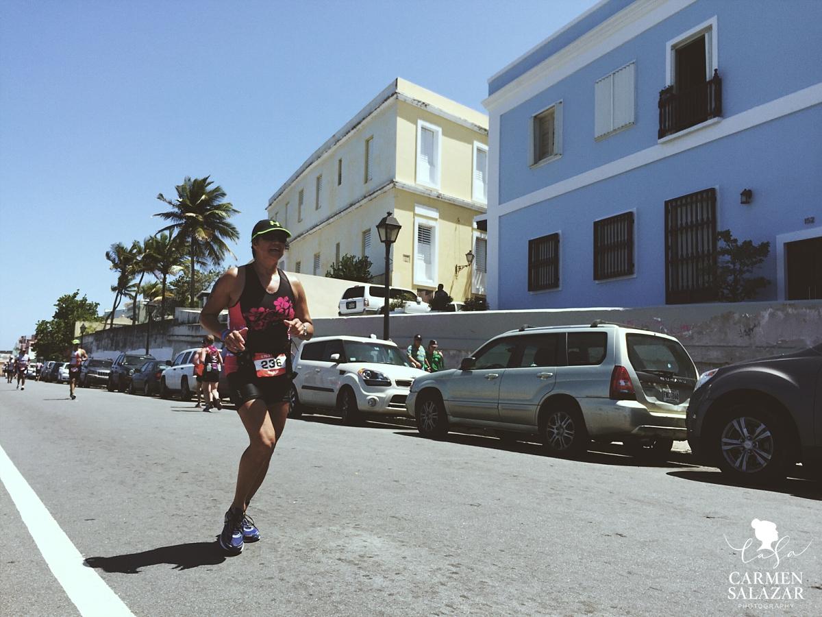 San Juan Puerto Rico marathon runner
