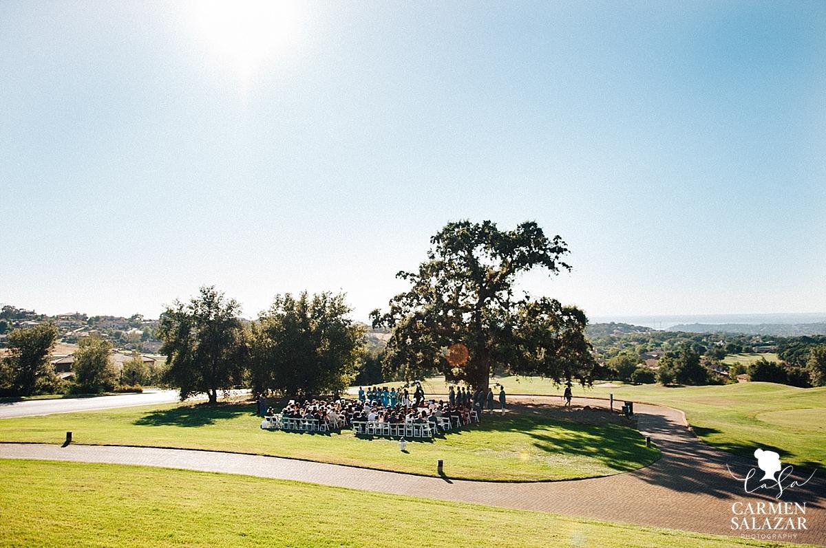 Serrano Country Club Wedding Ceremony - Carmen Salazar