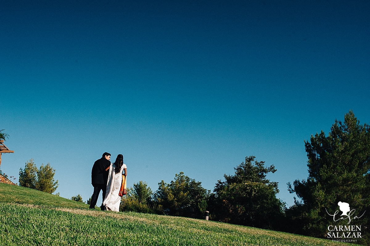 Serrano Country Club bride and groom - Carmen Salazar