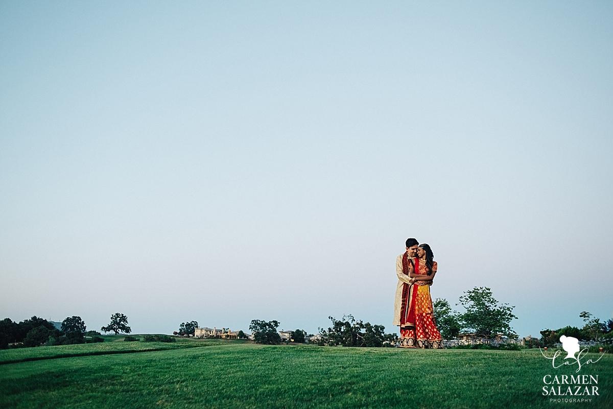 Newlywed bliss at Serrano Country Club - Carmen Salazar