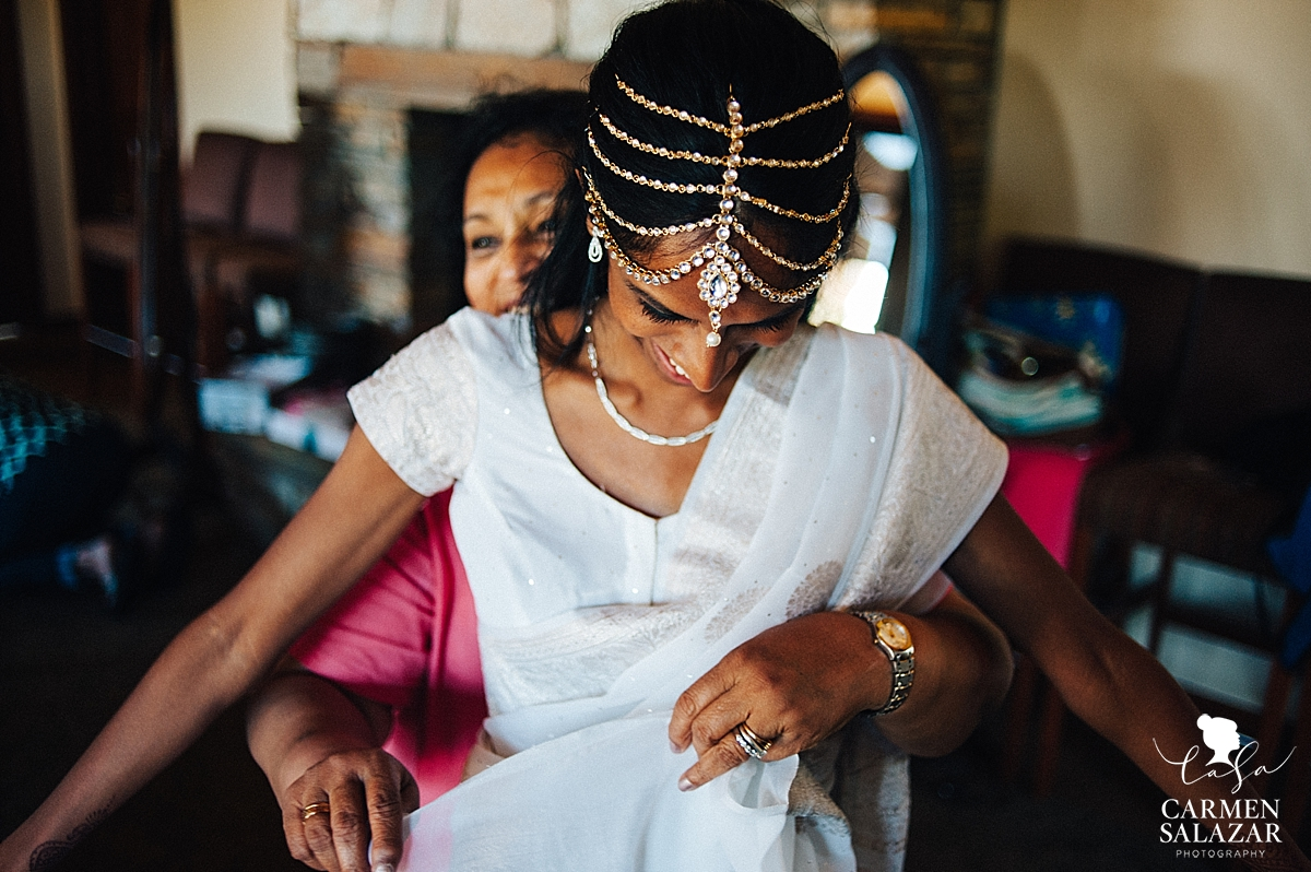 Beautiful Indian bridal accents - Carmen Salazar