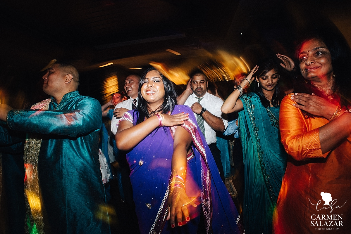 Indian dance routines at El Dorado Hills reception - Carmen Salazar