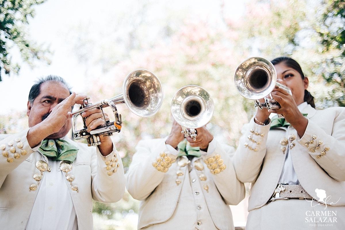 Stockton Morris Chapel mariachi wedding band - Carmen Salazar