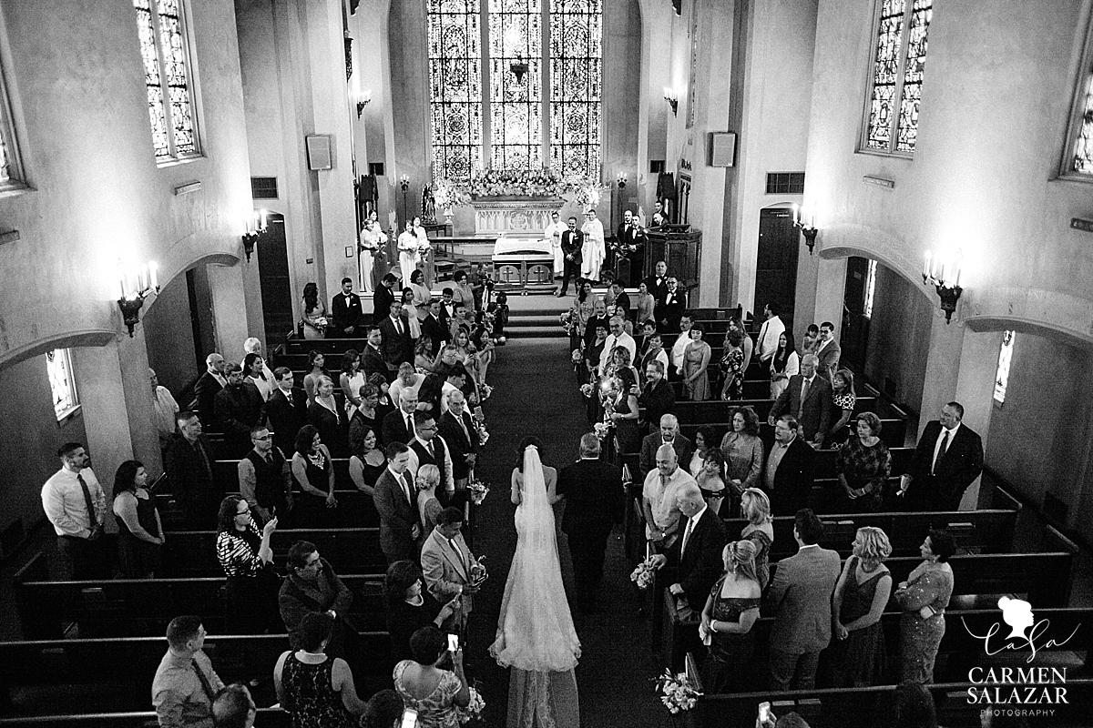 Stockton UOP Morris Chapel and Wine and Roses Wedding - Carmen Salazar