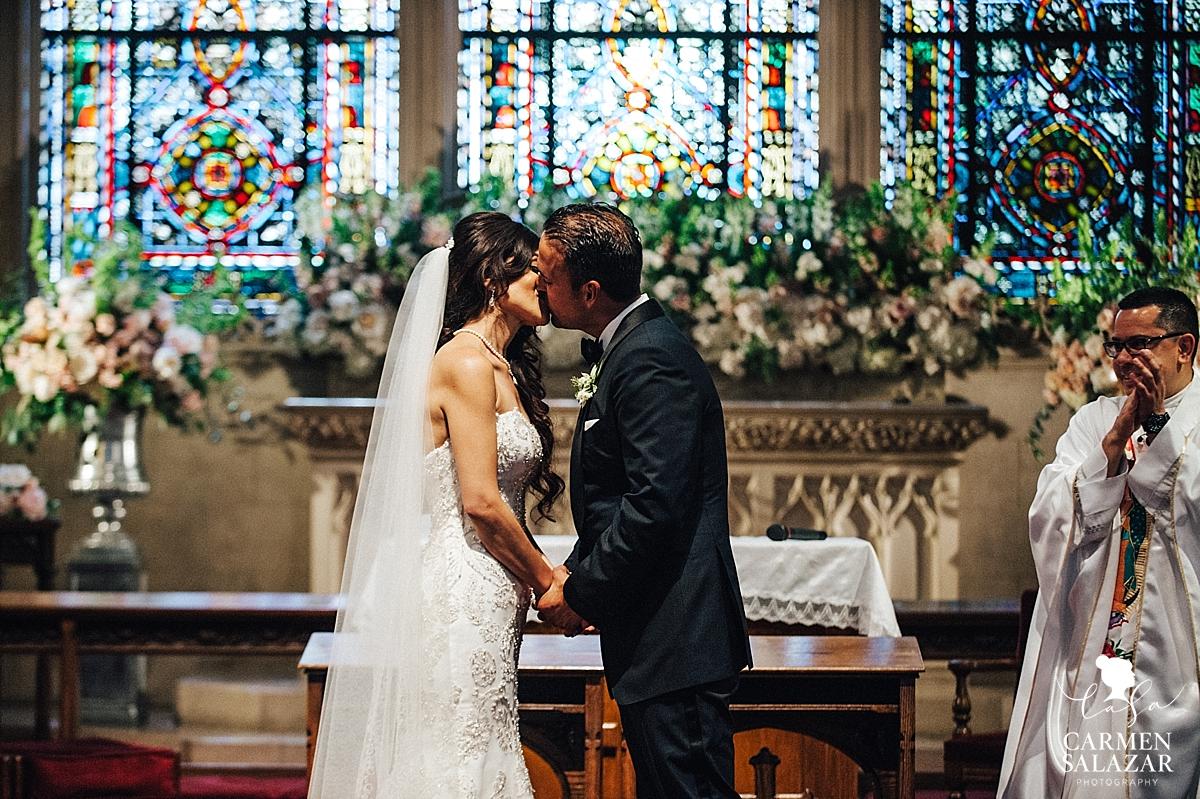 Stockton University Of Pacific Morris Chapel summer wedding - Carmen Salazar