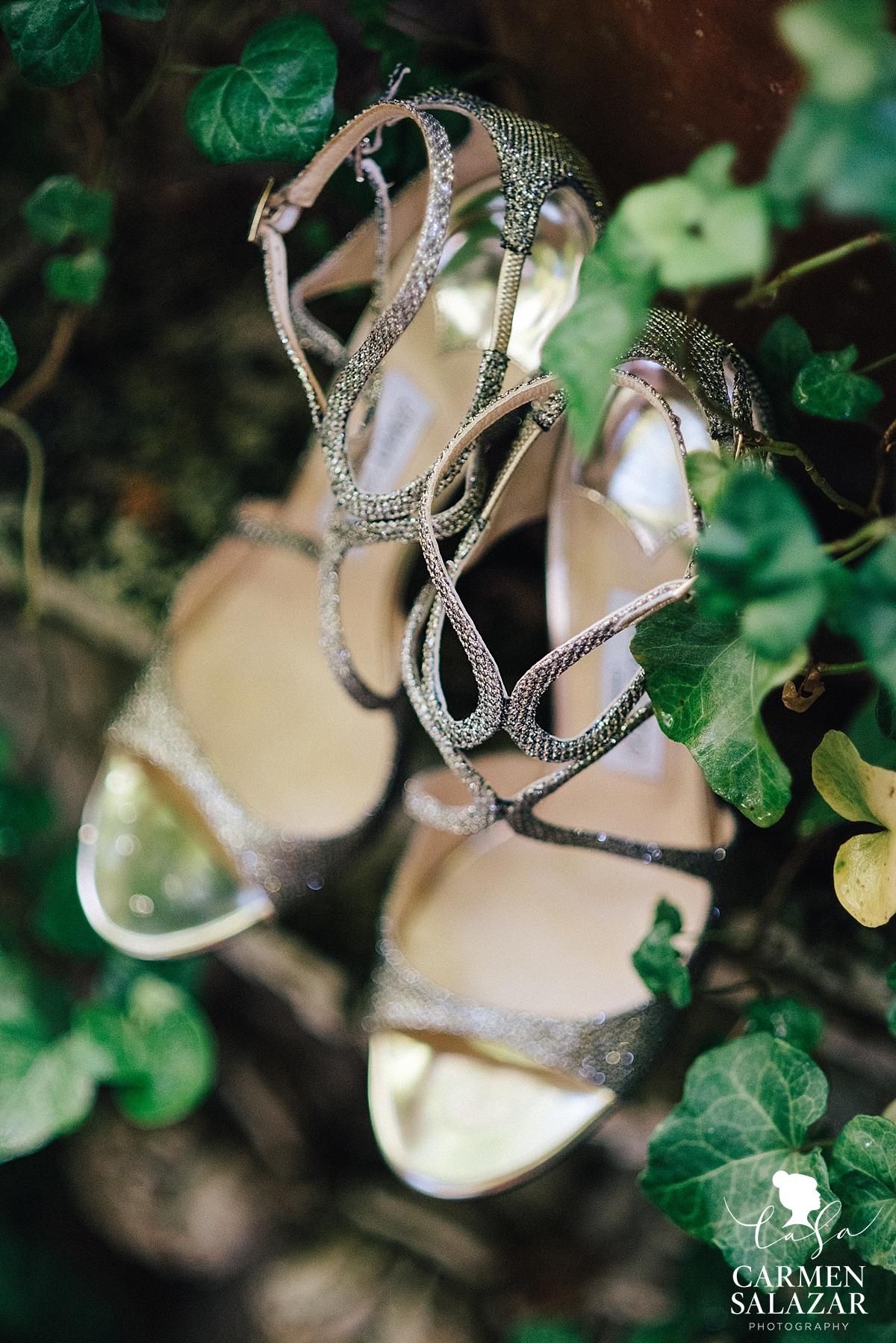 Sexy rhinestone wedding heels - Carmen Salazar