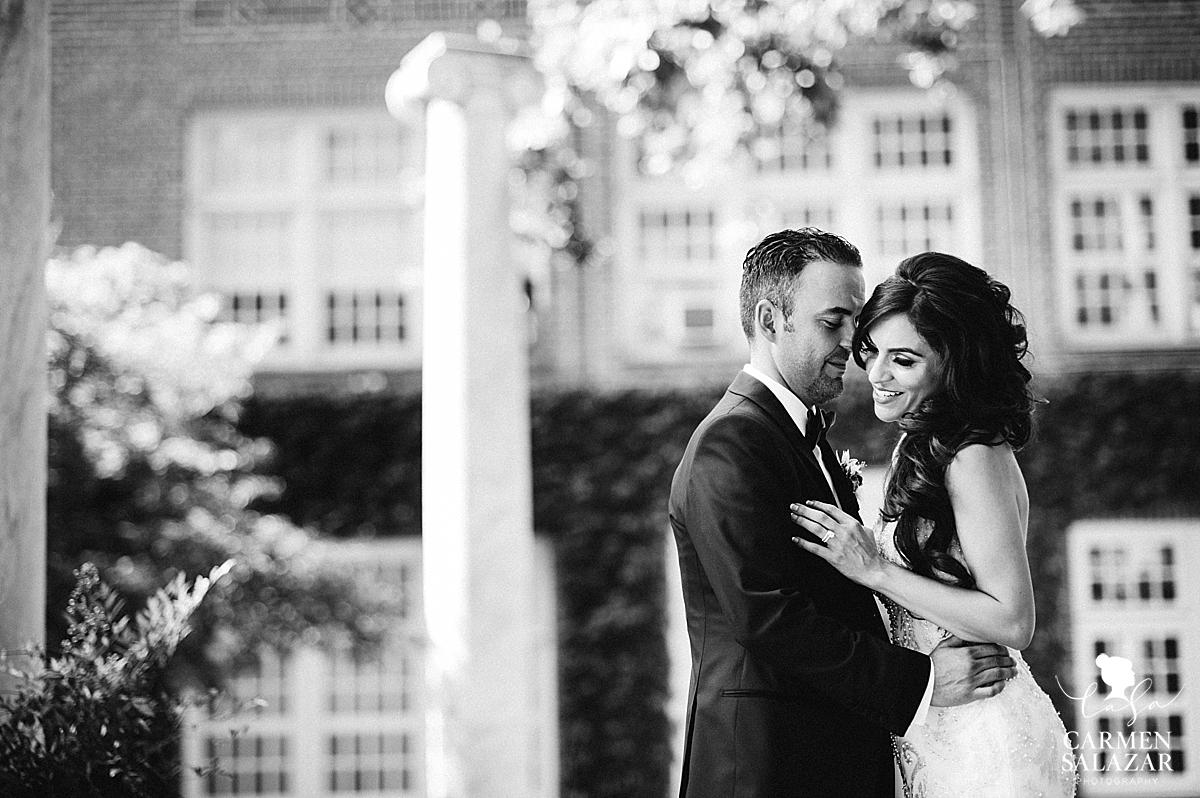 Dramatic University of Pacific wedding portraits - Carmen Salazar