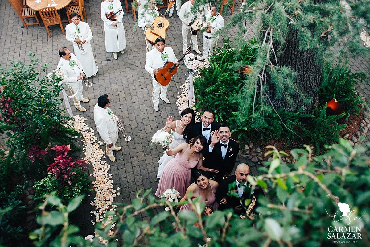 Mexican mariachi bridal party grand entry - Carmen Salazar