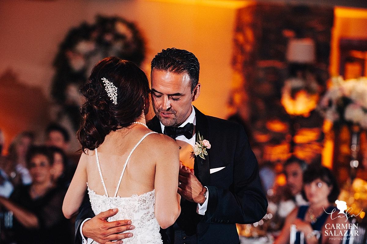 First dance in the Garden Ballroom - Carmen Salazar